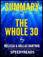 Summary of The Whole 30 by Melissa & Dallas Hartwig