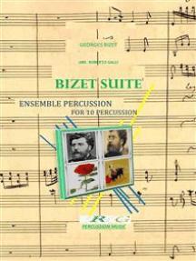 bizet suite: for 10 percussion