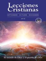 Lecciones Cristianas libro del alumno trimestre de otoño 2018