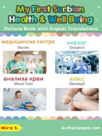 My First Serbian Health and Well Being Picture Book with English Translations