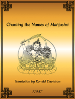 Chanting the Names of Manjushri eBook