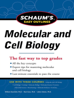 Schaum's Easy Outline Molecular and Cell Biology, Revised Edition