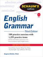 Schaum's Outline of English Grammar, Third Edition