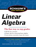 Schaums Easy Outline of Linear Algebra Revised