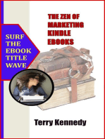 The Zen of Marketing Kindle Ebooks