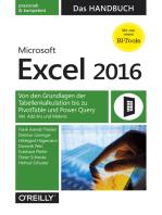 Microsoft Excel 2016 – Das Handbuch