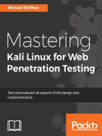 Mastering Kali Linux for Web Penetration Testing