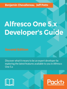 Alfresco One 5 x Developer's Guide - Second Edition by Jeff Potts and  Benjamin Chevallereau - Book - Read Online