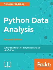 Python Data Analysis - Second Edition by Armando Fandango - Read Online