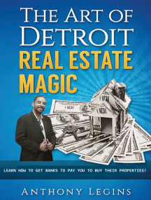 The Art of Detroit Real Estate Magic: Learn How To Get Banks To Pay You To Buy Their Properties