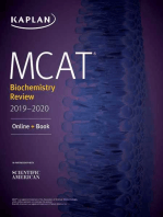 MCAT Biochemistry Review 2019-2020