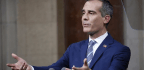 Garcetti Joins Mayors' Protest Outside Texas Holding Facility For Migrant Teens