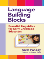 Language Building Blocks: Essential Linguistics for Early Childhood Educators