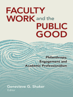 Faculty Work and the Public Good
