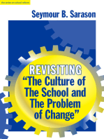 """Revisiting """"The Culture of the School and the Problem of Change"""""""