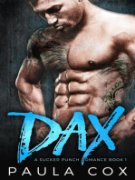 Dax: A Bad Boy MMA Fighter Romance: A Sucker Punch Romance, #1