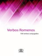 Verbos romenos (100 verbos conjugados)