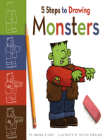 5 Steps to Drawing Monsters
