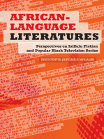 African-Language Literatures: Perspectives on isiZulu fiction and popular black television series