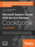 Microsoft System Center 2016 Service Manager Cookbook - Second Edition
