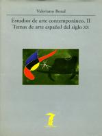 Estudios de arte contemporáneo, II: Temas de arte español del siglo XX