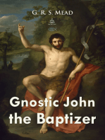 Gnostic John the Baptizer