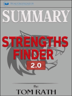 Summary of StrengthsFinder 2.0 by Tom Rath