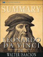 Summary of Leonardo da Vinci by Walter Isaacson