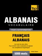 Vocabulaire Français-Albanais pour l'autoformation