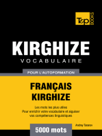 Vocabulaire Français-Kirghize pour l'autoformation