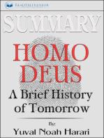 Summary of Homo Deus