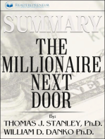 Summary of The Millionaire Next Door