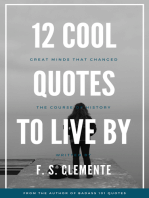 12 Cool Quotes to Live By