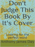 Don't Judge This Book By It's Cover