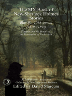 The MX Book of New Sherlock Holmes Stories - Part IX