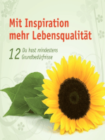 Mit Inspiration mehr Lebensqualität