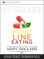 Summary of Bright Line Eating
