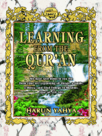 Learning from the Qur'an
