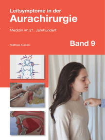 Leitsymptome in der Aurachirurgie Band 9: Medizin im 21. Jahrhundert