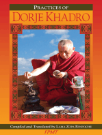 The Preliminary Practice of Dorje Khadro eBook