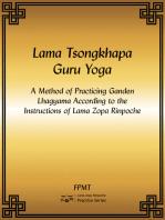 Lama Tsongkhapa Guru Yoga eBook
