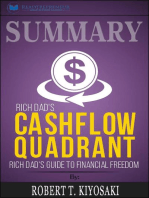 Summary of Rich Dad's Cashflow Quadrant: Guide to Financial Freedom by Robert T. Kiyosaki