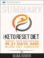Summary of The Keto Reset Diet