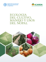 Ecologia del cultivo, manejo y usos del nopal