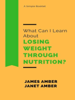 What Can I Learn About Losing Weight Through Nutrition?