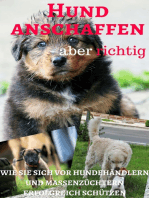 Hund anschaffen aber richtig - wie Sie sich vor Hundehändlern und Massenzüchtern erfolgreich schützen