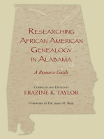 Researching African American Genealogy in Alabama
