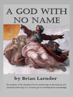 A God With No Name