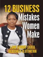 12 Biggest Business Mistakes Women Make