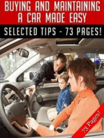 Buying and Maintaining A Car Made Easy